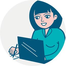 Tekstschrijven-Velp-bij-arnhem-uitsnede-illustratie